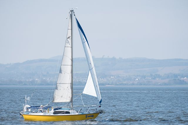 Sailing on the Tay II (Courtesy of Stan Farrow)